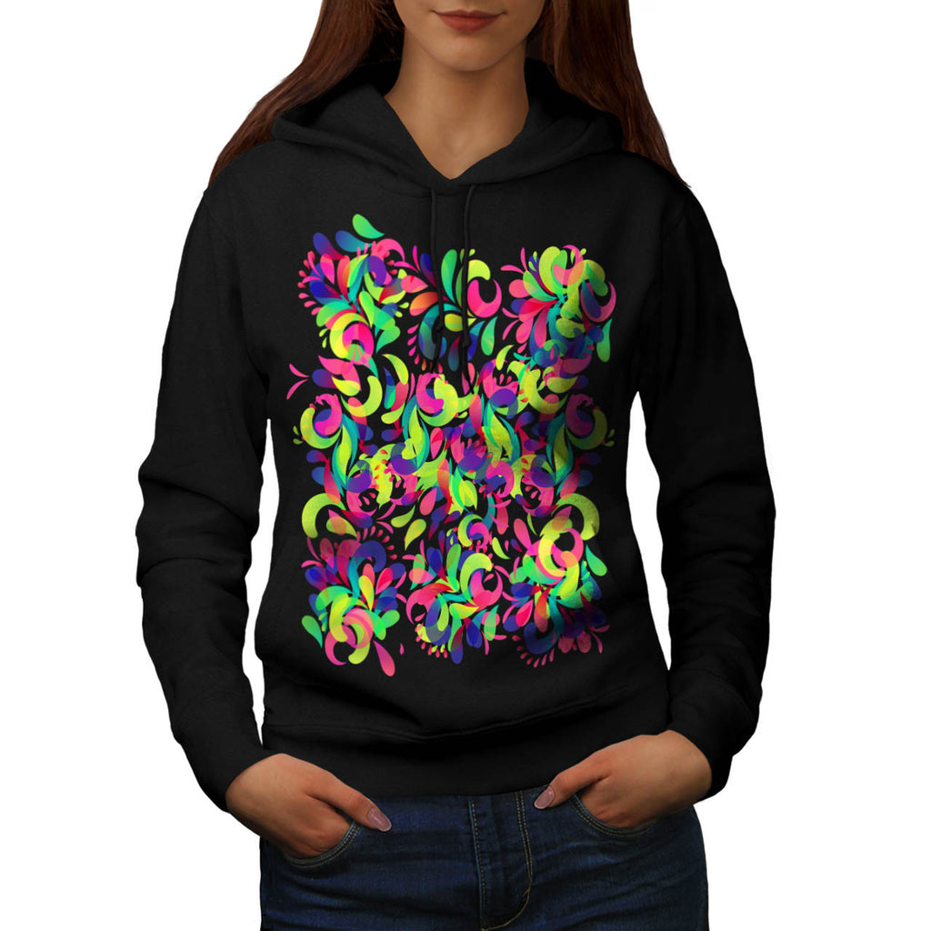 Colorful Abstract Womens Hoodie