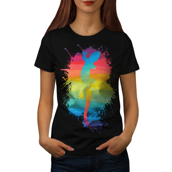 Chameleon Fashion Womens T-Shirt