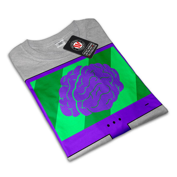 Brain Keyboard Combo Womens T-Shirt