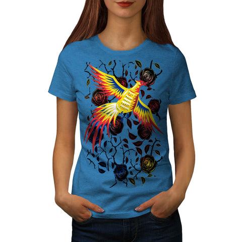 Phoenix Fantasy Fun Womens T-Shirt