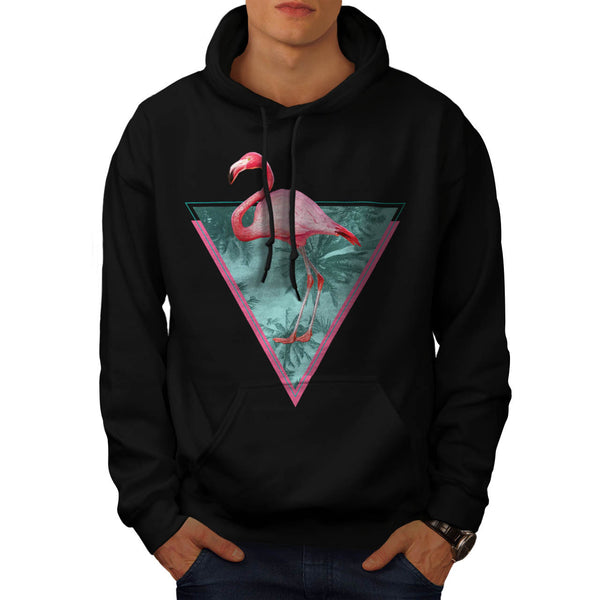 Flamingo Palm Beach Mens Hoodie