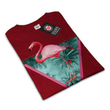 Flamingo Palm Beach Womens T-Shirt
