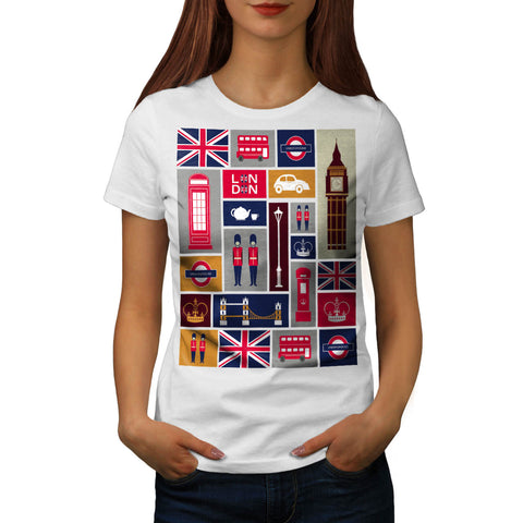 United Kingdom Love Womens T-Shirt