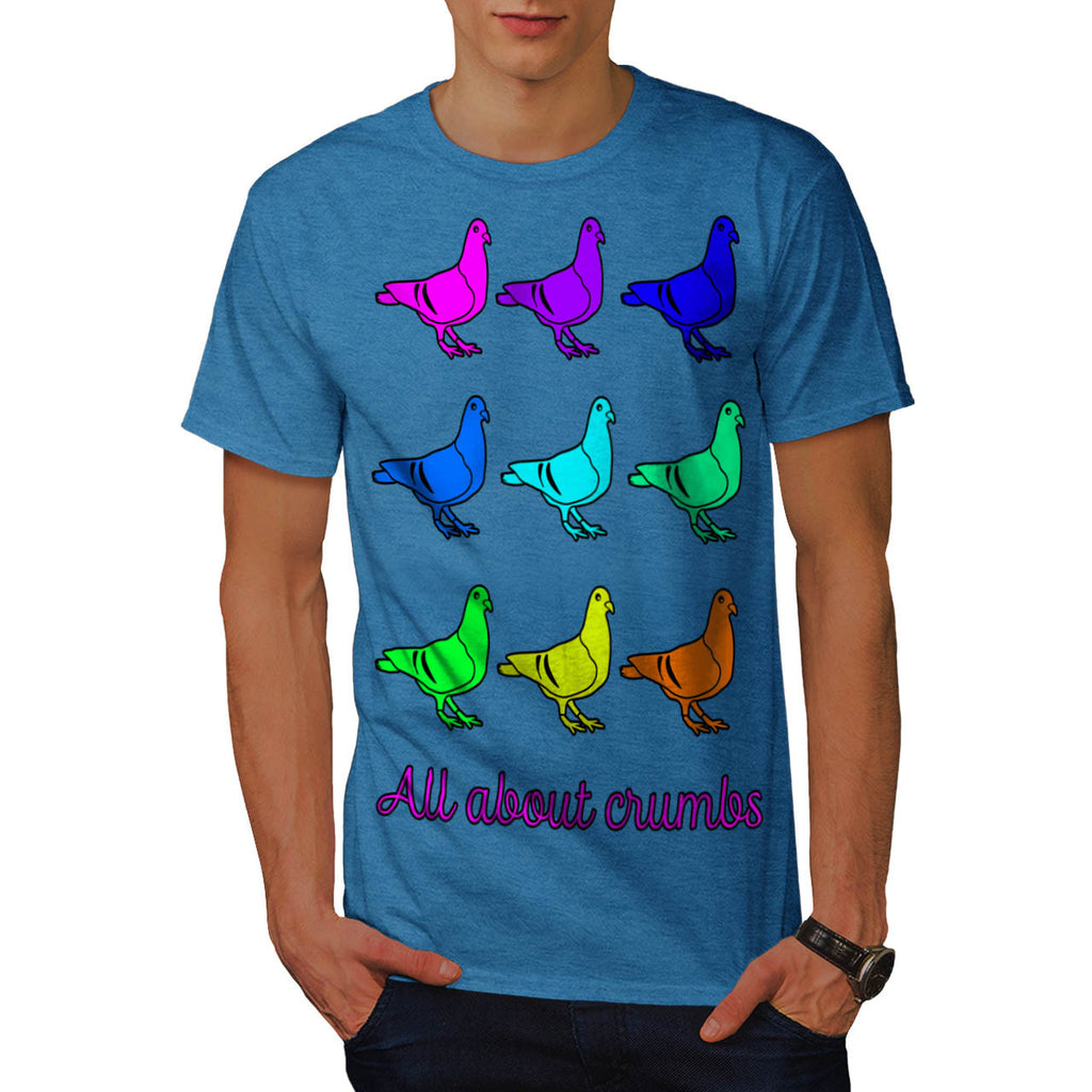 All About Crumb Fun Mens T-Shirt
