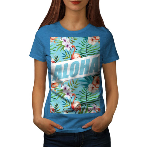 Aloha Hawaii Beach Womens T-Shirt