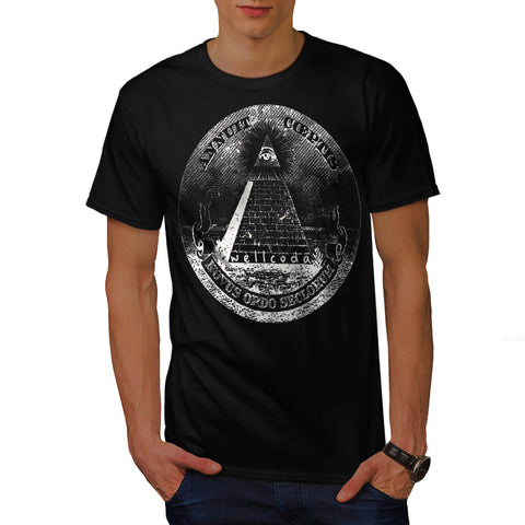 Illuminati Pyramid Mens T-Shirt
