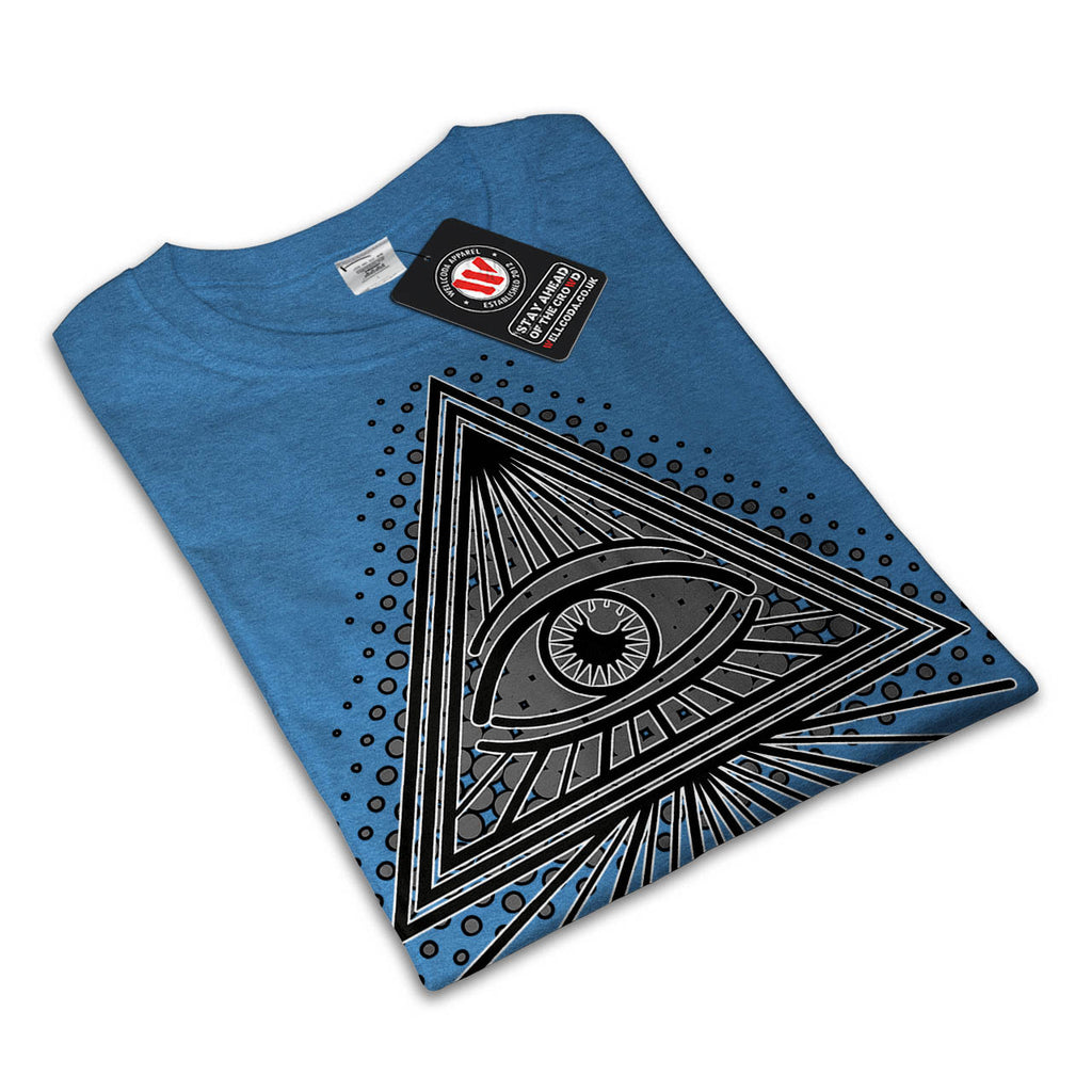 Illuminati Eye Art Womens T-Shirt