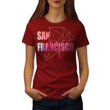 San Francisco City USA Womens T-Shirt