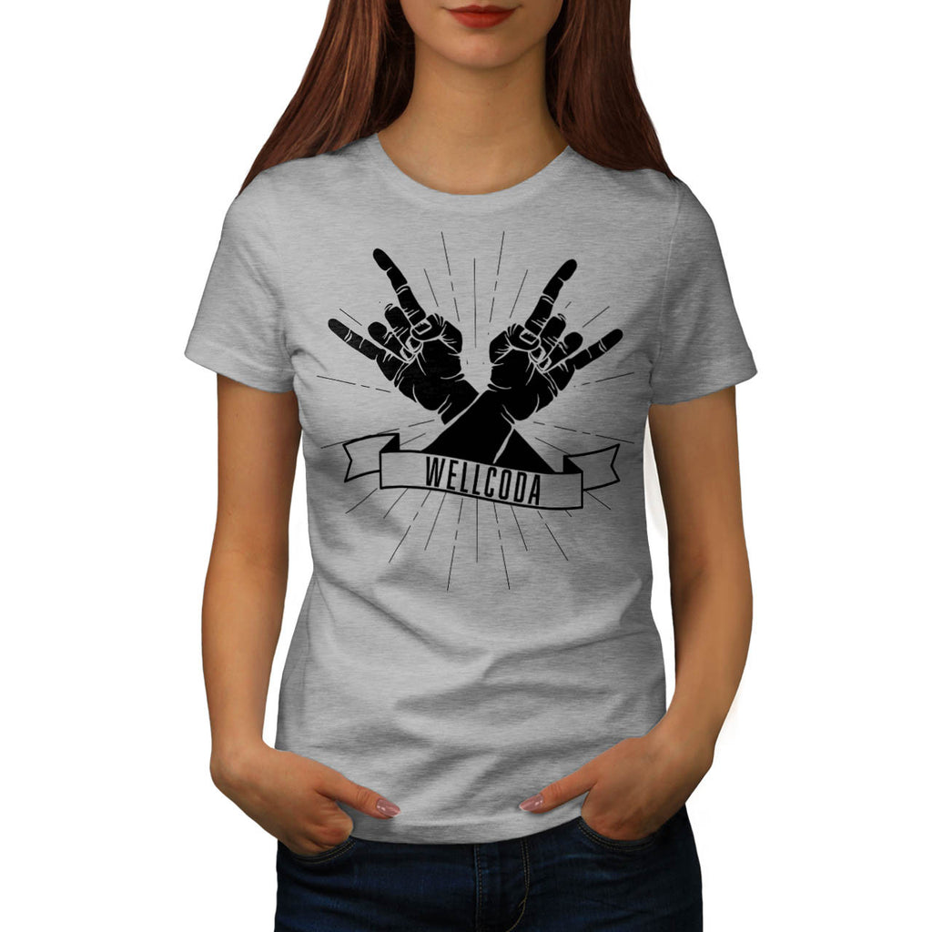 Rock'n'roll Forever Womens T-Shirt