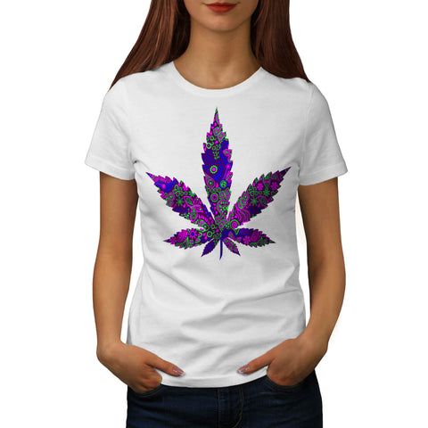 Hippie Freedom Plant Womens T-Shirt