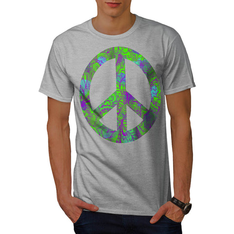Hippie Peace Forever Mens T-Shirt