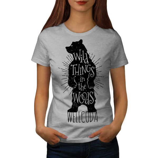Wild Thing Poster Womens T-Shirt