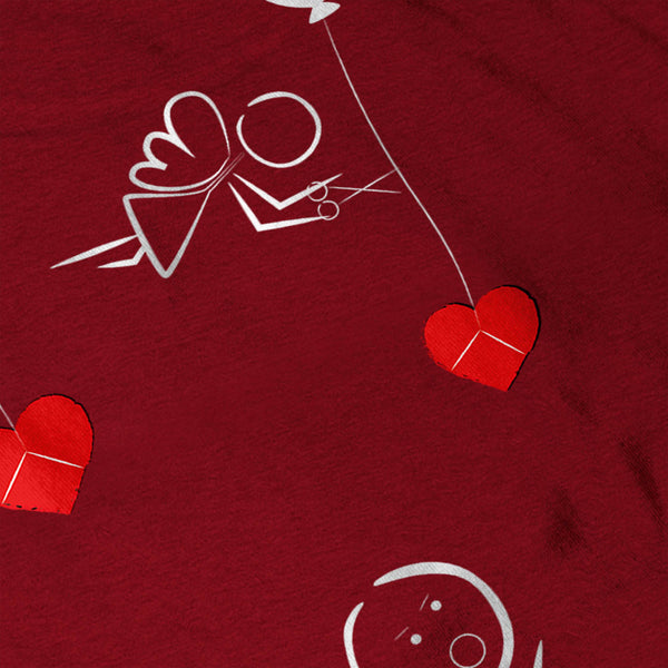 Stickman Balloon Fun Womens T-Shirt