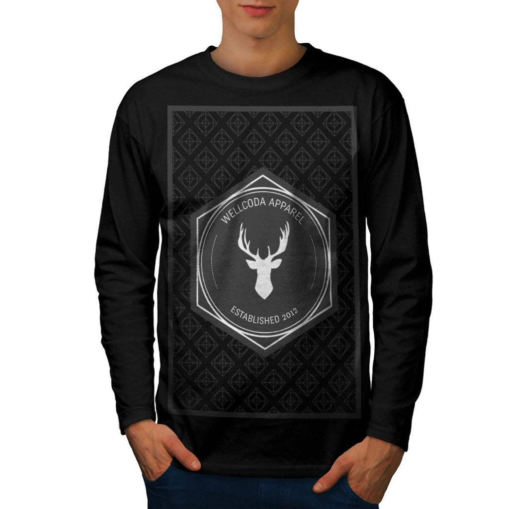 Apparel Big Game Hunt Mens Long Sleeve T-Shirt