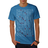 Alphabetic Chaos Mens T-Shirt