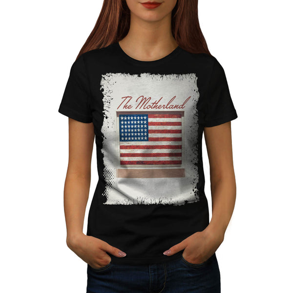 Motherland America Womens T-Shirt