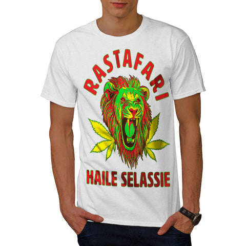 Jungle Lion Head Mens T-Shirt