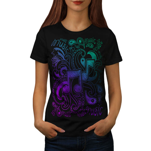Musical Ornament Womens T-Shirt