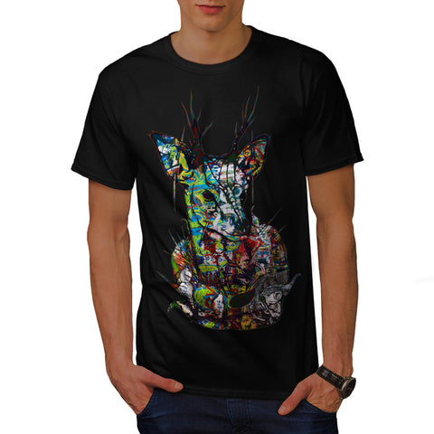 Psychedelic Nature Mens T-Shirt