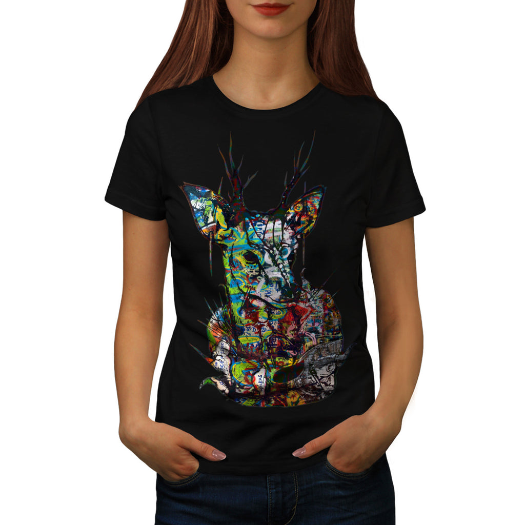 Psychedelic Nature Womens T-Shirt