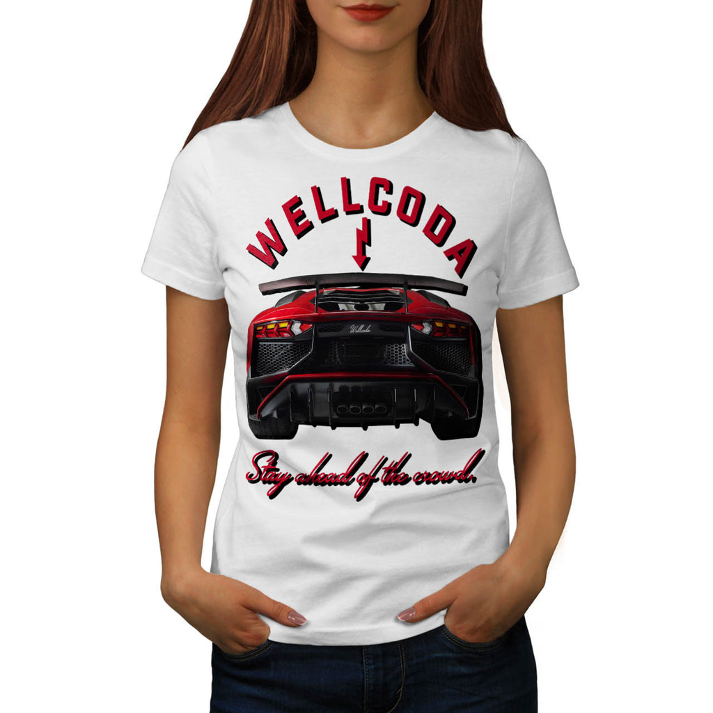 Auto Racing Fashion Womens T-Shirt