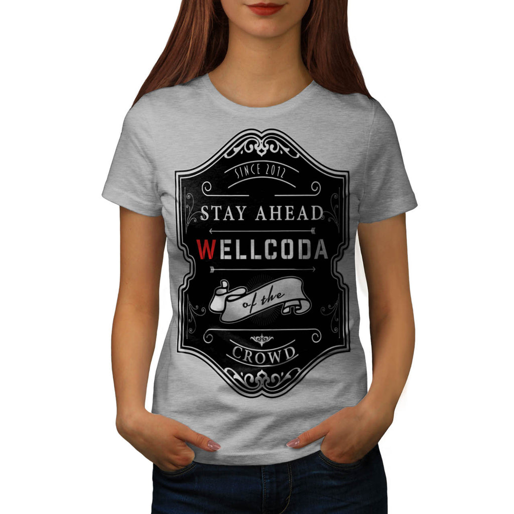 Whiskey Style Print Womens T-Shirt
