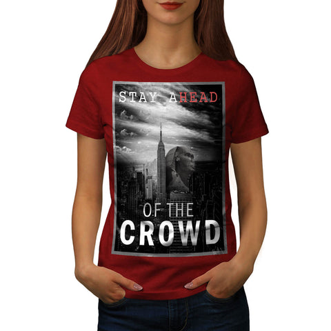 Egyptian Head City Womens T-Shirt