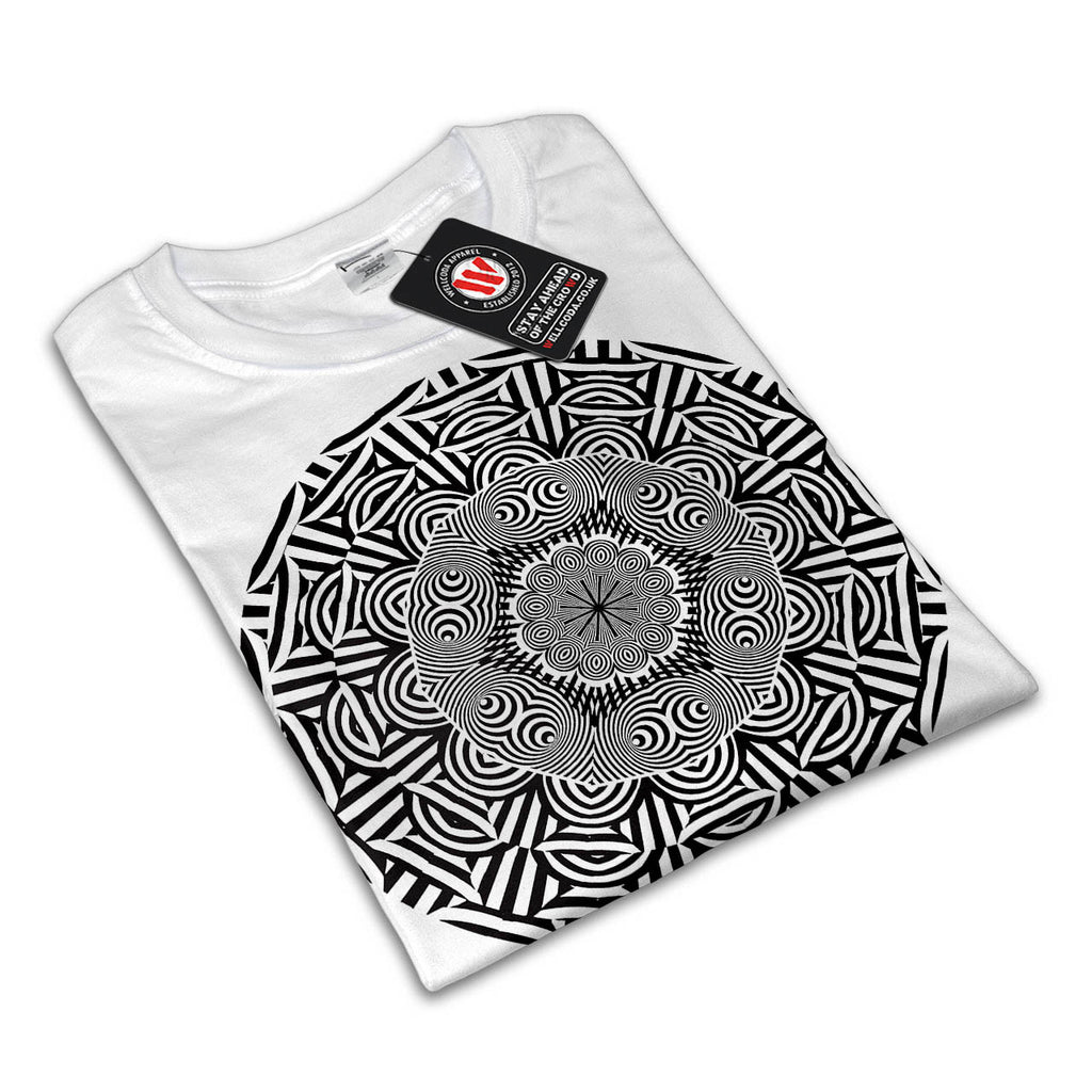 Indian Style Illusion Womens T-Shirt