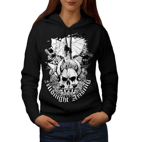 Midnight Arising Art Womens Hoodie