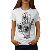 Illuminati Compass Womens T-Shirt