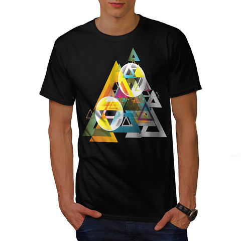 Triangle Sun System Mens T-Shirt