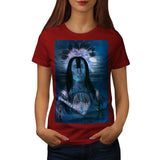 Indian Vision Man Womens T-Shirt