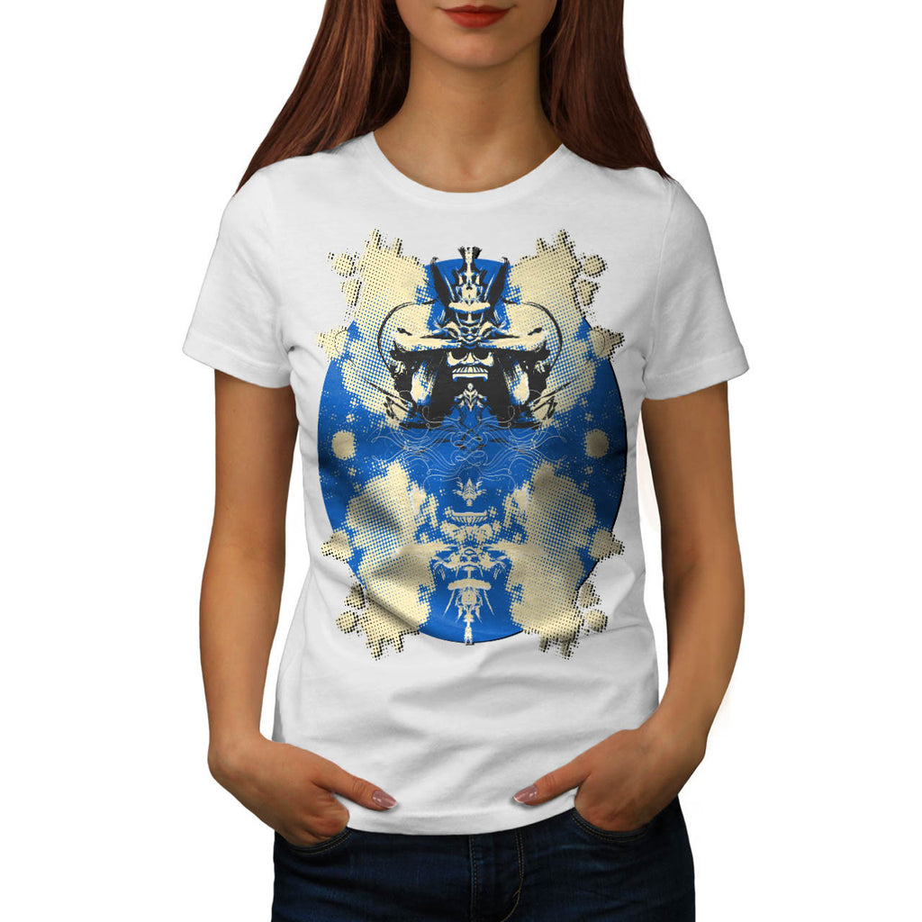 Samurai Design Art Womens T-Shirt