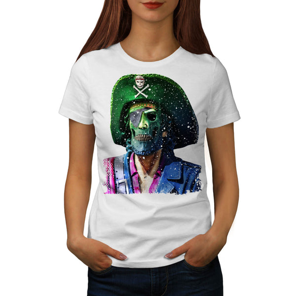 Nightmare Pirate Womens T-Shirt