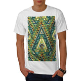 Tribal Style Pattern Mens T-Shirt
