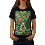 Tribal Style Pattern Womens T-Shirt
