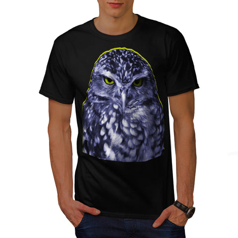 Night Creature Owl Mens T-Shirt