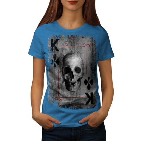 Life Death Gamble Womens T-Shirt