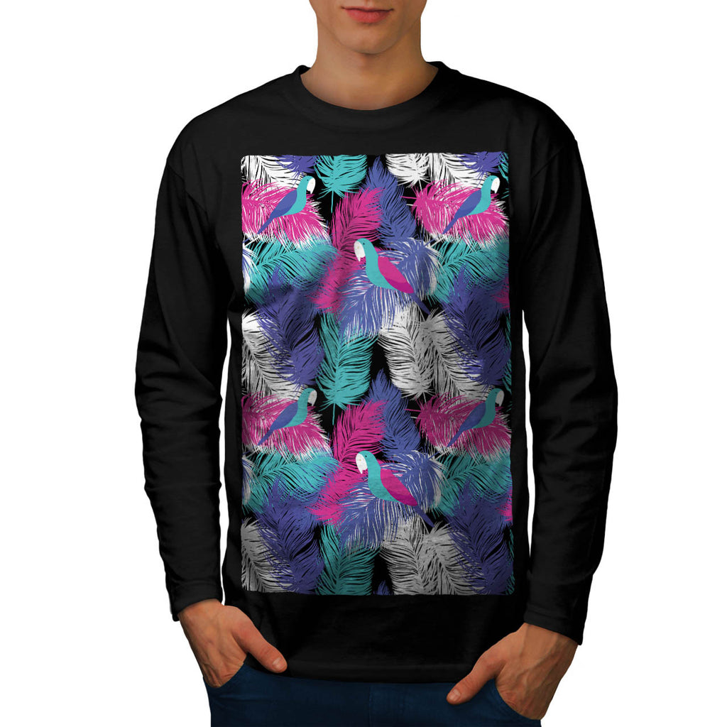 Bird Of Paradise Life Mens Long Sleeve T-Shirt