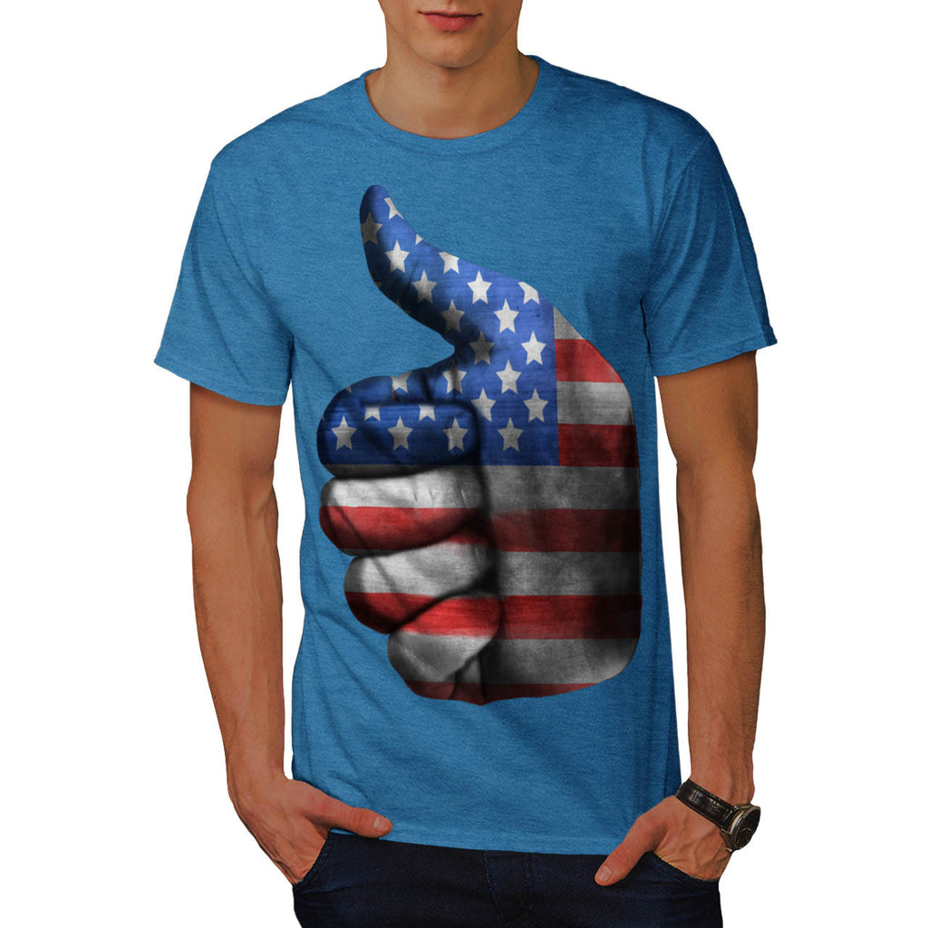 American Thumbs Up Mens T-Shirt