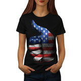American Thumbs Up Womens T-Shirt