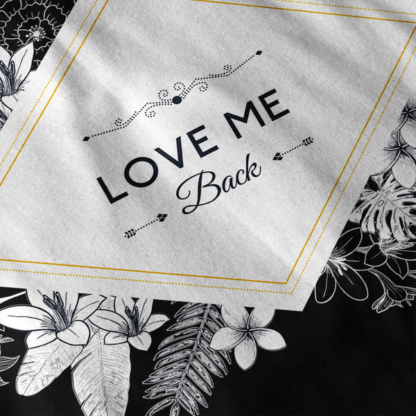 Love Me Back Diamond Womens Long Sleeve T-Shirt