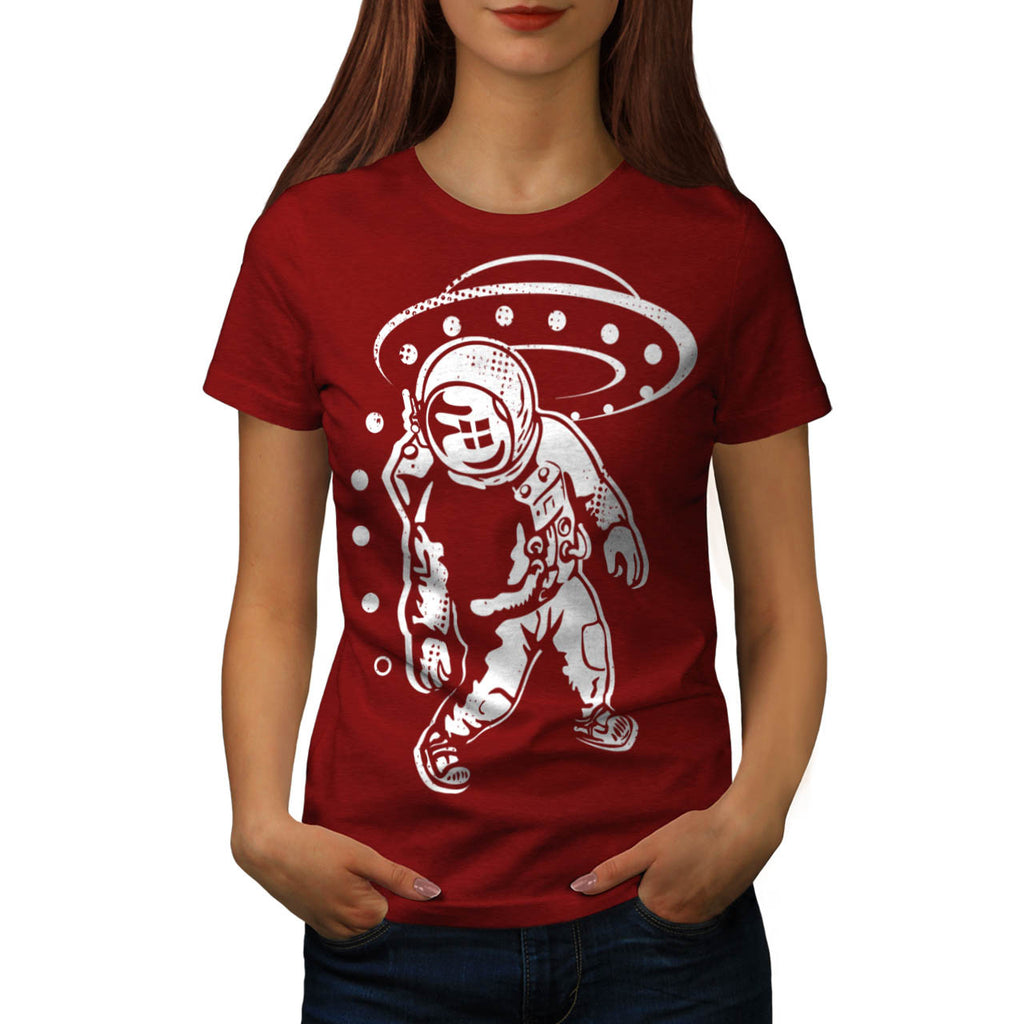 Spaceship Odyssey Womens T-Shirt