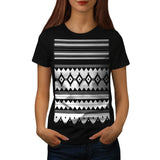 Tribal Style Design Womens T-Shirt