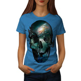 Skull Head Soul Art Womens T-Shirt