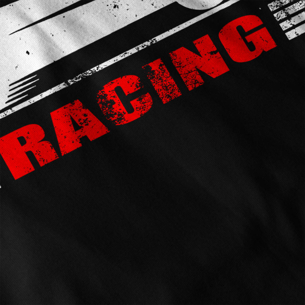 Vintage Racing Car Womens T-Shirt