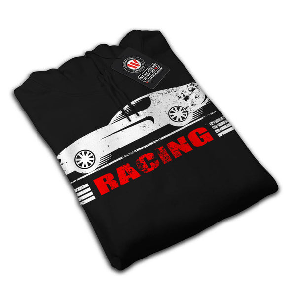 Vintage Racing Car Mens Hoodie