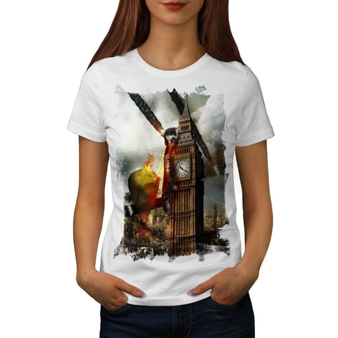 Lemur Burns London Womens T-Shirt