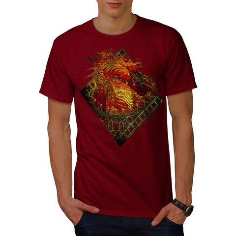 Dragon Fantasy Beast Mens T-Shirt
