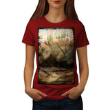 African Savannah Womens T-Shirt